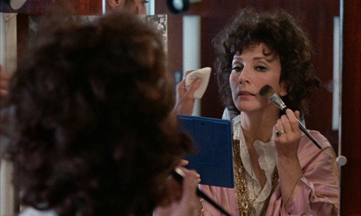 """Valentina Cortese in """"Effetto notte"""""""